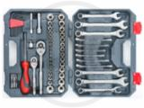 "Crescent® 70Pc SAE/Metric Mechanics Tool Set, 1/4"" & 3/8"" Drives"