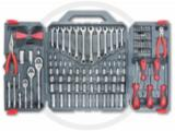 "Crescent® 148Pc SAE/Metric Mechanics Tool Set, 1/4"", 3/8"", & 1/2"" Drives"