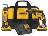 DeWalt 20V Max XR® Brushless Drywall Gun & Drywall Cutout Tool Kit, 2.0Ah
